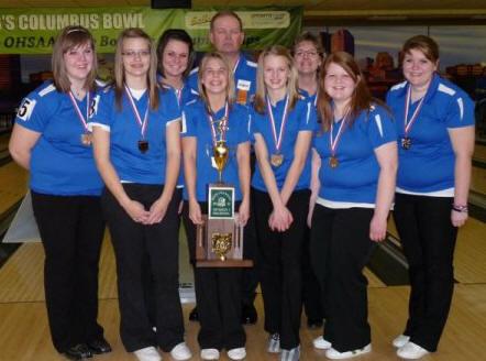 St. Marys Girls Bowling State Champions